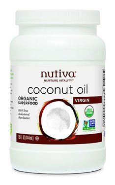 nutiva organic unrefined coconut oil