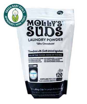 Mooly's Suds non-toxic laundry powder