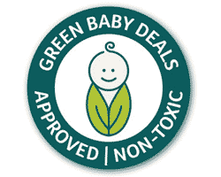 Green Baby Deals approved non-toxic logo